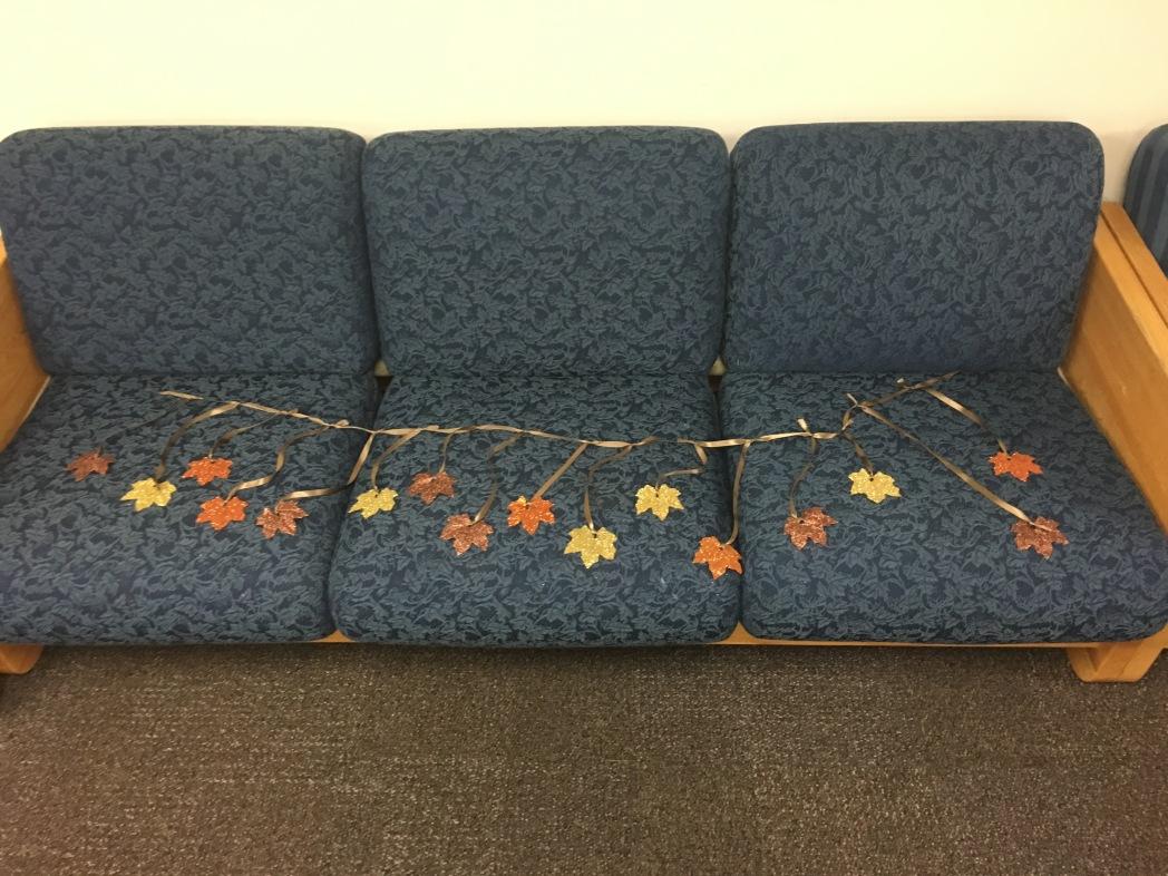 Glitter Leaves 4